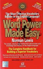Word Power Made Easy by N. Lewis, NEW Book, FREE & FAST Delivery, (Paperback)