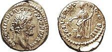 Ancient Rome AD 138-61 ANTONINUS PIUS, Den, SALVS AVG COS IIII, Salus stg l