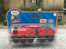 Learning Curve Thomas & Friends Wooden Railway Train James with Tender New