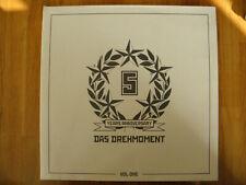 DAS DREHMOMENT 5 YEARS ANNIVERSARY VOL ONE 2005 VINYL LP ALBUM