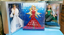 LOT 3 Barbie Holiday Visions Special Edition 2003 2004 2017 NIB Christmas Gift