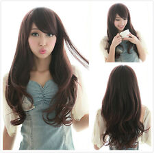 Brand New Curly Wavy Wig Womens Long Hair Sexy Wigs Cosplay Party Black/Brown
