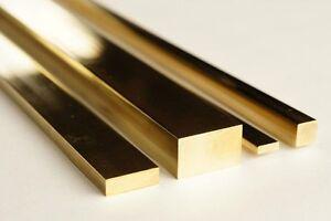 Brass Flat Bar  - all sizes & Lengths upto 1300mm long - CHEAP