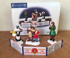 DEPARTMENT 56 SNOW VILLAGE COLLECTION LOONEY TUNES ANIMATION FILM FESTIVAL