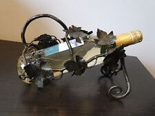 More details for bronze antique french wine bottle holder, hand made, top quality and beautiful