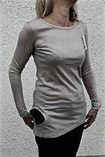 túnica suéter lana extra elegante beige M&F GIRBAUD Talla 36 PRECIO TIENDA