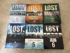 LOST The Complete ABC TV Series Dvd Season Sets 1-6 Good