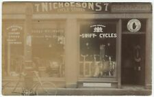 More details for nicholsons bicycle shop front, 7 south methven street, perth-perthshire postcard