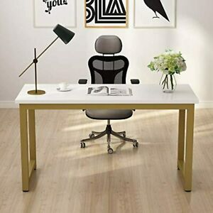 Tribesigns Modern Computer Desk, 55 inches Large Office Desk Computer Table Stud