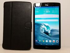 LG G Pad X VK815 16GB Wi-Fi + 4G Verizon 8.3in Android Tablet with Case
