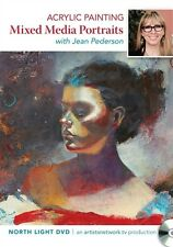 DVD Only! Acrylic Painting Mixed Media Portraits with Jean Pederson
