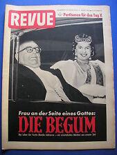 REVUE Nr.12/1953 *ZEITSCHRIFT*AUTOMOBIL-AUSSTELLUNG FRANKFURT*BEGUM*REPORTAGEN