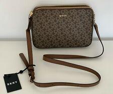 NEW! DONNA KARAN NEW YORK DKNY BRYANT PARK DOUBLE ZIP CROSSBODY SLING BAG $158