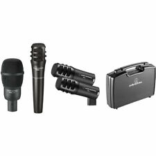 Audio-Technica Pro-Drum4 Pro Series Drum Microphone Pack 4 Pc With Carrying Case