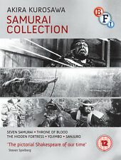 KUROSAWA The Samurai Collection 4 Blu-ray Disc Set 1954