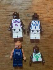 Lego NBA Minifigures Rare Vince Carter McGrady Nash Walker 3433 white basketball