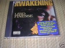 Lord Finesse - The Awakening CD sealed OOP rare OG 1996