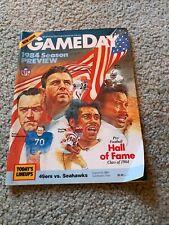 1984 San Francisco 49ers v Seattle Seahawks Preseason Football Program 8/24