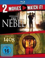 STEPHEN KING'S DER NEBEL/ZIMMER 1408 BD 2 BLU-RAY NEU