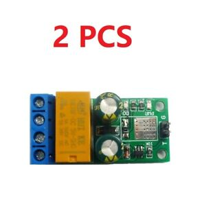 2 PCS DC 5-24V 2A Self-locking bistabl Reverse Polarity Switch Controller Relay
