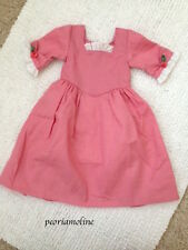 American Girl FELICITY SPRING GOWN Tulip Pink ~PLEASANT Company