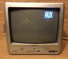 "TV / DVD Combo CRT Television No Remote Magnavox MWC13D6 13"""