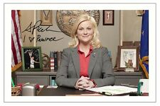 AMY POEHLER PARKS AND RECREATION AUTOGRAPH SIGNED PHOTO PRINT LESLIE KNOPE