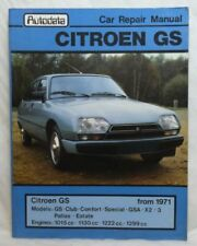GS 1971 Car Service & Repair Manuals
