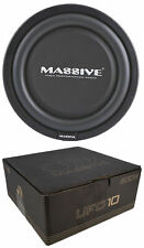 """MASSIVE 10"""" HIGH POWER LOW PROFILE CAR TRUCK 600 WATTS SHALLOW MOUNT SUB WOOFER"""