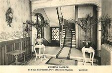 Vestibule, Pension Galilee, Rue Galilee, Paris France