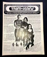 Life Magazine Ad SAUNA BELT TRIM-JEANS 1971 AD
