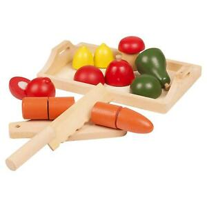 9pcs Kids Toy Pretend Role Play Kitchen Fruit Vegetable Food Cutting Sets Gift