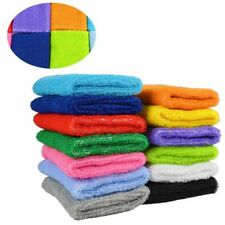 Unisex Terry Cloth Cotton Sweatband Sports Wrist Tennis Yoga Sweat Wristband