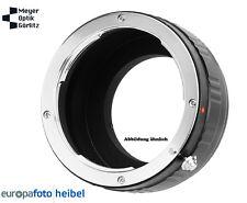 Meyer Optik Görlitz Nikon F Bajonett auf Sony E-Mount Neuware vom Fachhändler