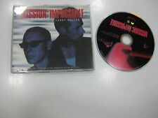 ADAM CLAYTON & LARRY MULLEN CD SINGLE THEME FROM MISSION IMPOSSIBLE 1996 U2
