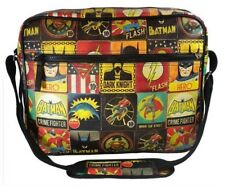 DC Comics Justice League Pop Art Comic Messenger Bag - Back To College/ Uni