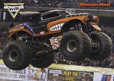 Monster Mutt Monster Truck Poster - Monster Jam 2019 - A3 297mm x 420mm