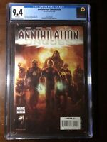 Annihilation: Conquest #6 (2008) - 1st New Guardians!  - CGC 9.4! - Key!