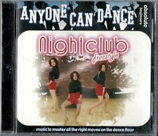 Anyone Can Dance: Nightclub Freestyle - Various Artists (CD, 2005) New-Sealed!