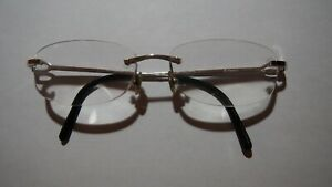 Authentic Cartier glasses  frame with boxes and papers