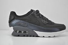Womens Nike Air Max 90 Ultra SE Running Shoes Size 8 Black White 859523 200