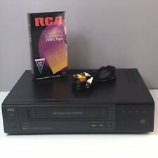 NEC N-5300U Hi-Fi 4 Head VCR VHS Video Cassette Recorder/Player New RCA Tape A/V