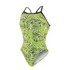 Nike Women's Scatter Brain Classic Lingerie Tank Swimsuit