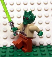 Lego Star Wars Custom Greedo Rodian Jedi Knight w/ Lightsaber Clone Wars NEW