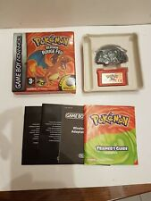 Pokemon rouge feu en boite TBE game boy advance gba Nintendo