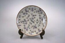 VEB Reichenbach ? Porzellan Teller mit Goldrand 17cm Motiv Blumen