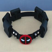 New Deadpool X-Men Superhero metal Belt Accessories Costume Cosplay Props