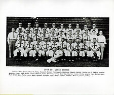 MLB 125 St. Louis Browns TEAM PHOTO Vintage 1944 Promotional BB PRESS PHOTO