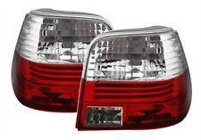 2 FEUX ARRIERE POUR VW GOLF 4 TYPE M3 BLANC ET ROUGE