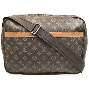 100% authentic Louis Vuitton Monogram Reporter GM M45252 [Used] {05-0336}